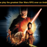 Knights of the Old Republic – Version Android disponible avec promo de lancement