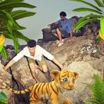 Jungle – Un nouvel Effet Réalité Augmentée sur Xperia