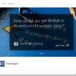Fessenger – Facebook Messager bientôt disponible sur les Google Glass