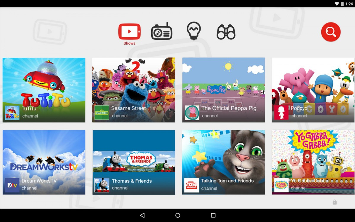 YouTube Kids   Applications Android sur Google Play