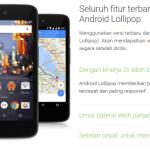 Google est sur le point de Lancer Android One sous Android 5.1 en Indonésie