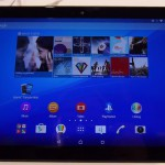 Sony Xperia Z4 Tablet – Prise en main en vidéo #MWC2015
