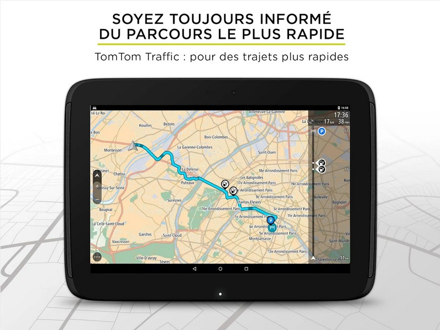 tomtom lance son application android gratuite mais payante android franceandroid france. Black Bedroom Furniture Sets. Home Design Ideas