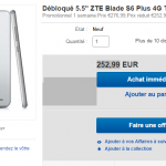 ZTE Blade S6 Plus – Disponible dans le monde via Ebay