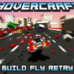 Hovercraft: Build Fly Retry – Un jeu de course à la sauce minecraft