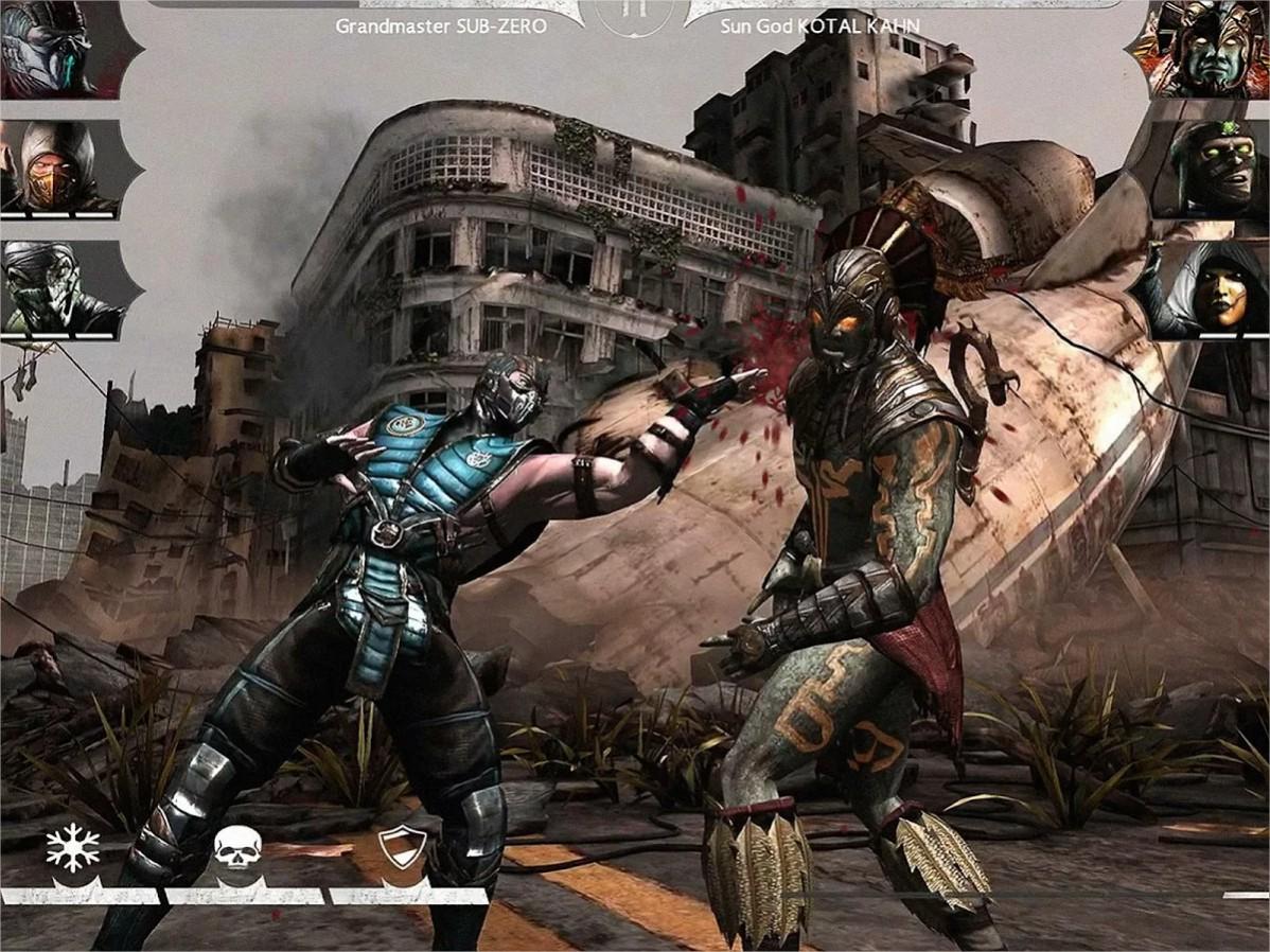 Mortal kombat x disponible sur le google play android for Un jeu de miroir sohrab khan