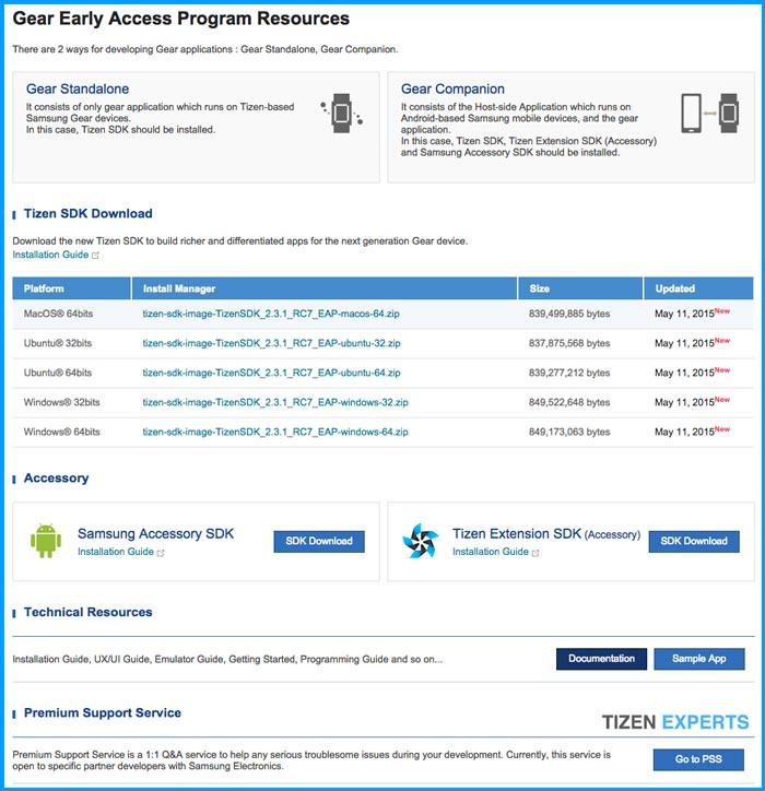 Samsung-Gear-SDK-Early-Access-Program