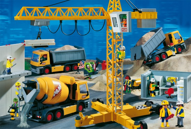 Chantier-Playmobil