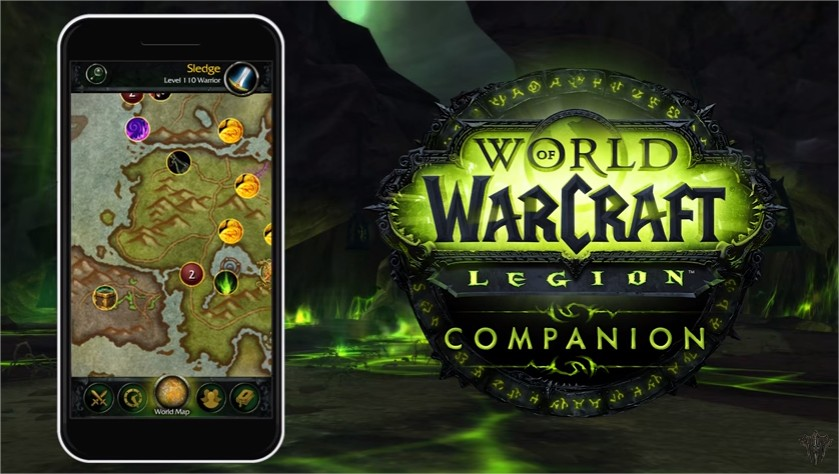 World of Warcraft Legion companion
