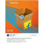 Motorola lance son Smartphone Moto E4 avec une batterie XXL en Inde
