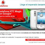 Le HTC Magic en vente dès aujourd'hui sur le site vodafone Espagne
