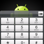 Le version Android Cupcake du HTC Hero installée sur un HTC Dream