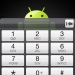 Le version Android Cupcake du HTC Hero installée sur un HTC Dream