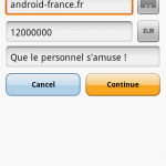 L'application officielle Paypal est disponible pour Android