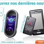 Le Samsung i7500 Galaxy en stock sur le site de Bouygues Telecom