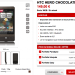 Mise au point sur la disponibilité du HTC Hero sur Virgin Mobile