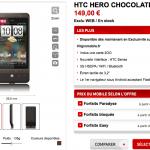 Mise au point sur la disponibilité du HTC Hero sur Virgin Mobile