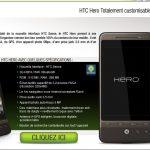 HTC Hero disponible sur Pixmania.com à 529 Euro