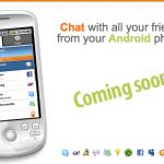 Le logiciel de messagerie multi-protocole Nimbuzz annoncé sur Android
