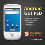 Un kit graphique vectoriel gratuit de l'interface utilisateur Android en PSD