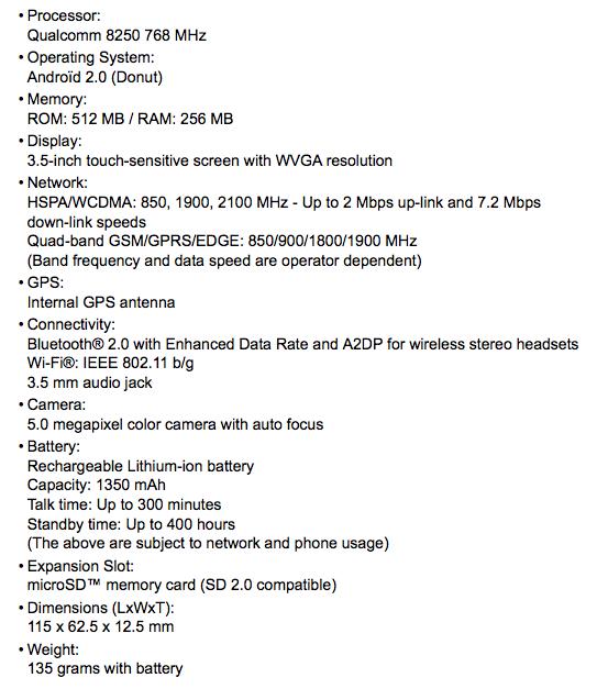 Acer A1 (EU, White, Wi-fi, GPS), #AcerA1_EU - eXpansys France_1254006826312