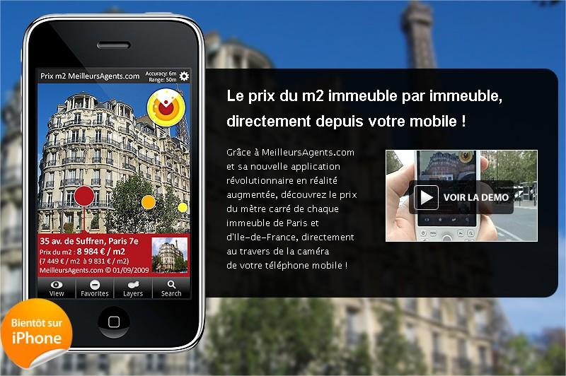 Les prix de l'immobilier sur votre mobile en ralit augmente - MeilleursAgents.com - Mozilla Firefox