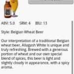 La bière n'a plus de secret avec android