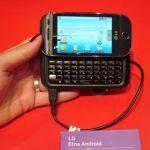 Photo du LG Etna premier modèle Android de la marque
