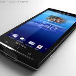 Rendu 3D du prochain Sony Ericsson Xperia X3 alias Rachael