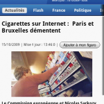 Le Figaro – L'application officielle disponible sur Android Market