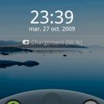 Android France paye ses captures d'écran d'Android 2.0 Eclair en français