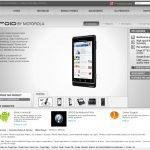Motorola Droid les spécifications techniques
