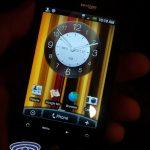 Le HTC Desire sous Android avec l'interface utilisateur HTC Sense