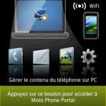 Motorola Phone Portal le gestionnaire idéal pour Android