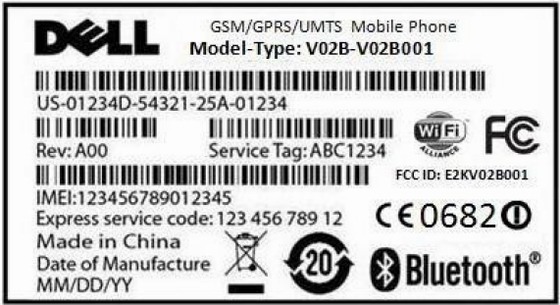Dell-Mini-3iX-FCC-ATT-label