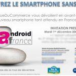 Le Motorola Droid alias Milestone arrive en Europe et surtout en France