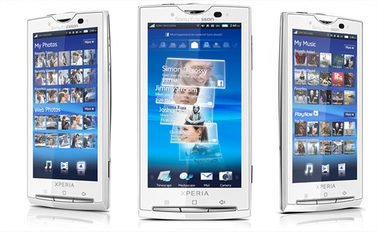 Sony Ericsson - Products - Mobile phones - Overview - Xperia X10 - Mozilla Firefox
