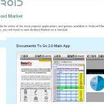 De nouvelles conditions générales d'utilisation d'Android Market