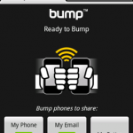 Bump l'application de partage arrive sur Android