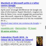 Un nouveau Google News Mobile pour Android