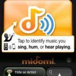 Reconnaissance des chansons avec Midomi sur Android