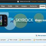 Skyrock.com le nouveau partenaire pour le Motorola Dext avec Motoblur