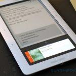 Prise en main du E-Reader sous Android nommé Nook proposé par Barnes and Nobles