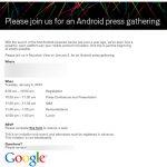 Nexus One – La date le prix et la confirmation de T-Mobile
