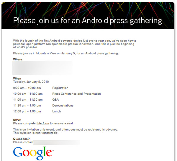google-event-nexus-one