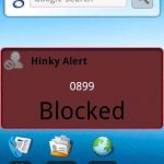Hinky l'anti spam sms disponible uniquement sous Android