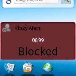 Hinky l'anti spam sms disponible uniquement sous Android