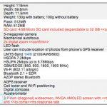Nexus One – Les caractéristiques complètes du Google Phone