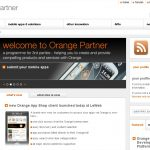 Orange lance son Application Shop
