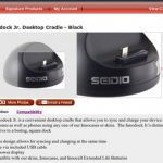 Nexus One – Le dock Seidio Innodock Jr.